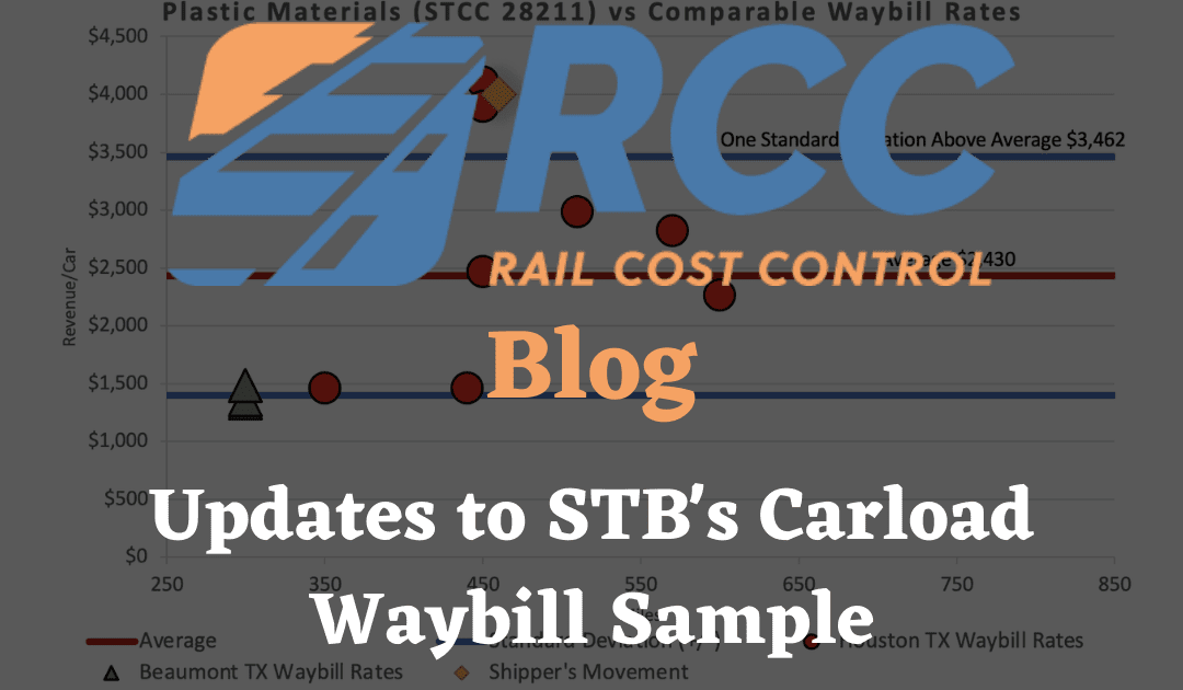 RCC Blog - Uploads to STB's Carload Waybill Sample