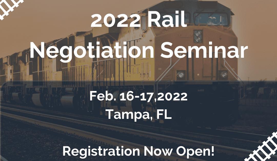 Rail Negotiation Seminar