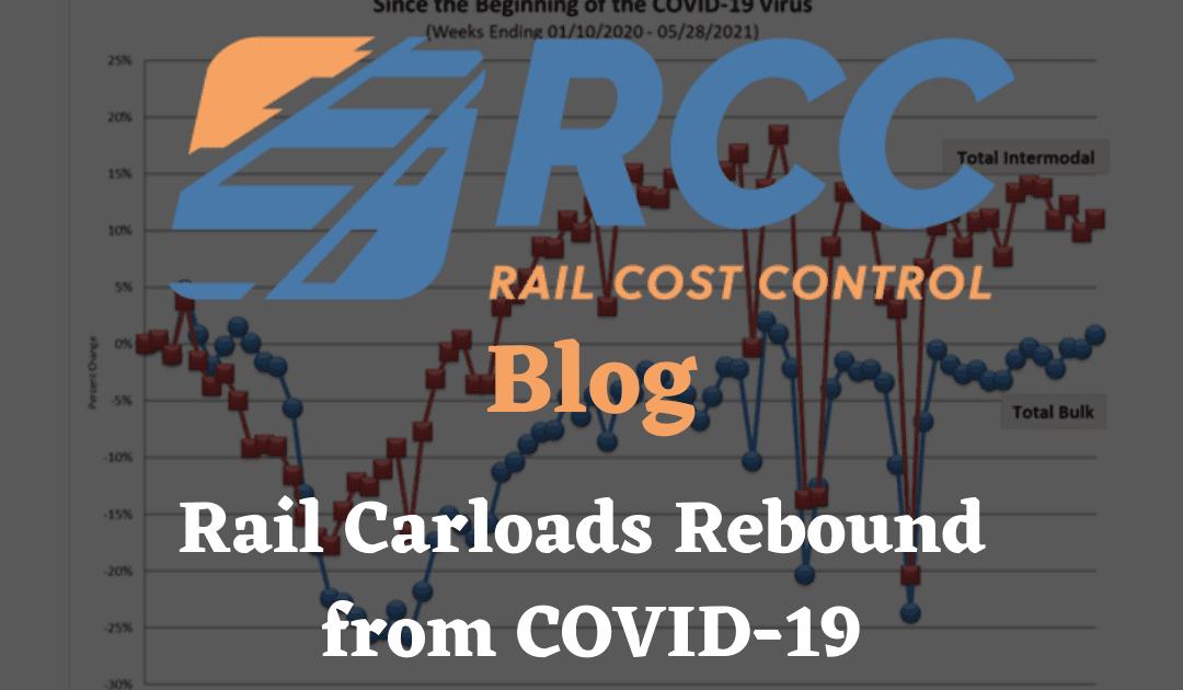 Rail Carloads Rebound from Covid-19