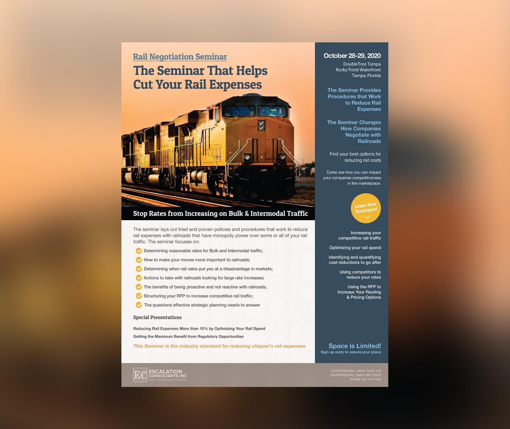 october 29, 2020 rail negotiation training seminar